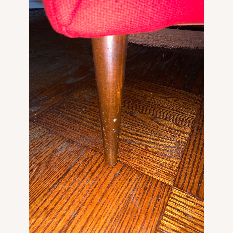 Kroehler Vintage Sectional Set in Bright Red - image-10