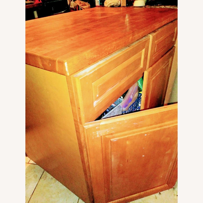 KraftMade Cabinetry Butcher Block Island - image-4