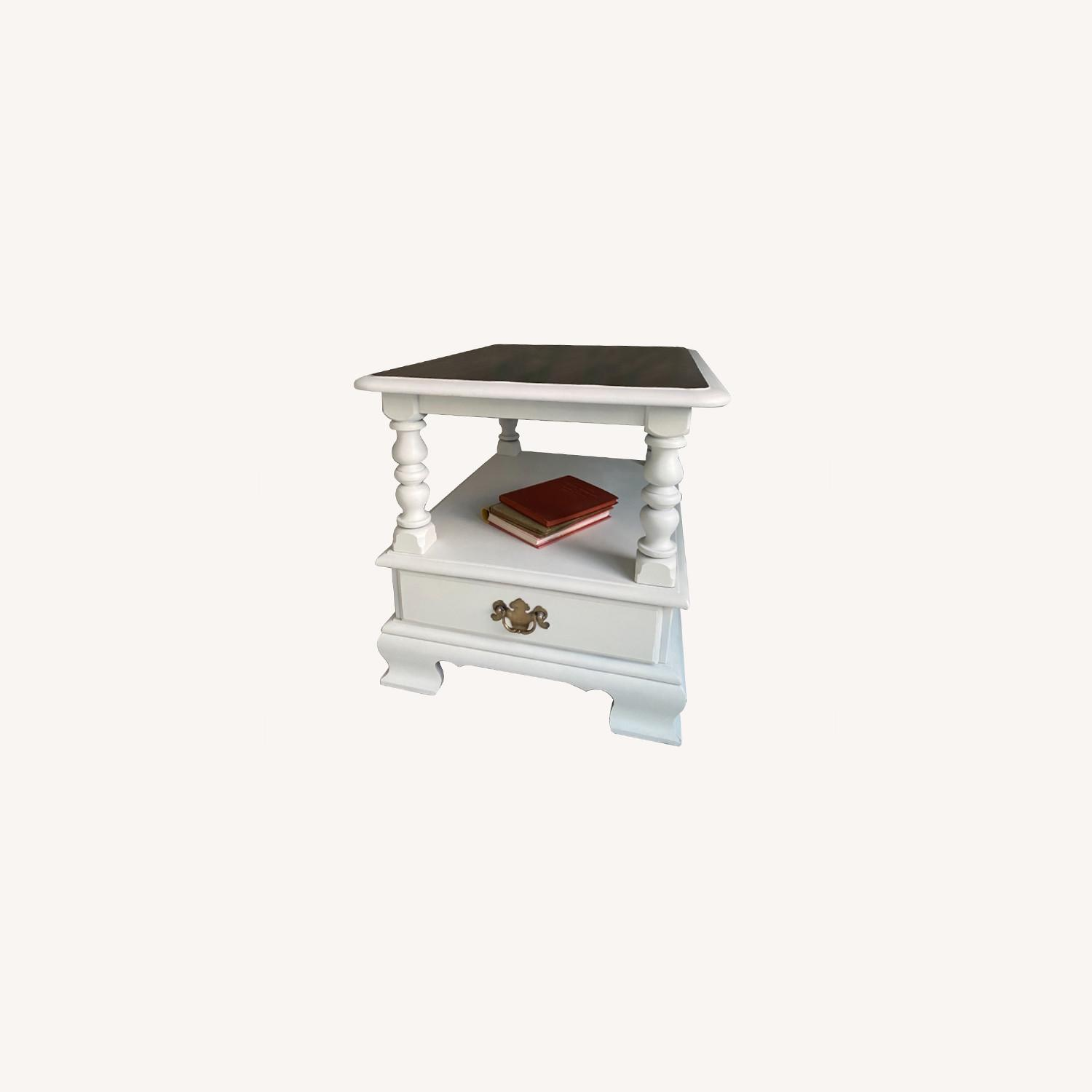 Ethan Allen Federal Style End Table - image-0