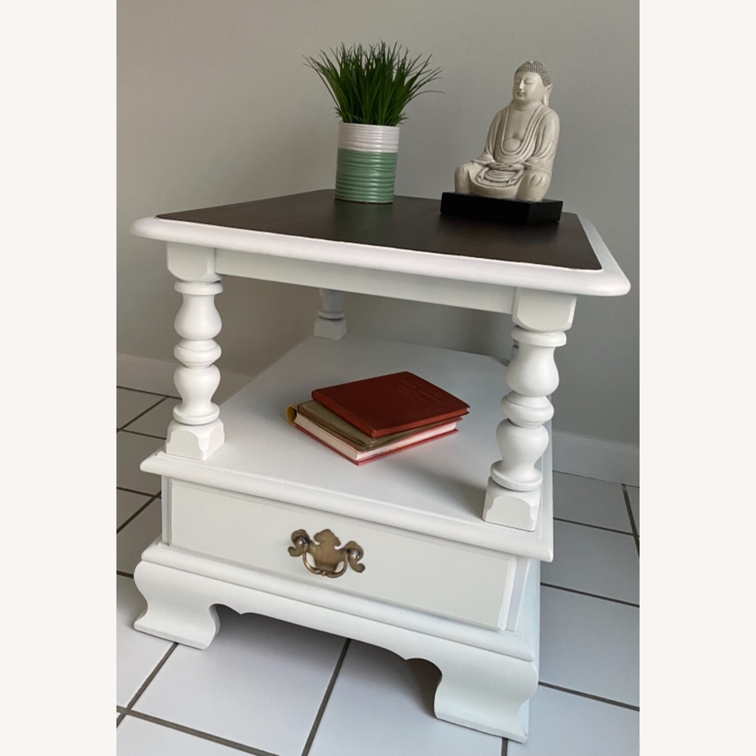 Ethan Allen Federal Style End Table - image-1