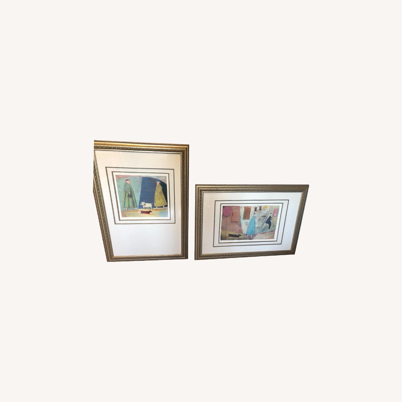 Framed set of Paula McArdle prints - image-0
