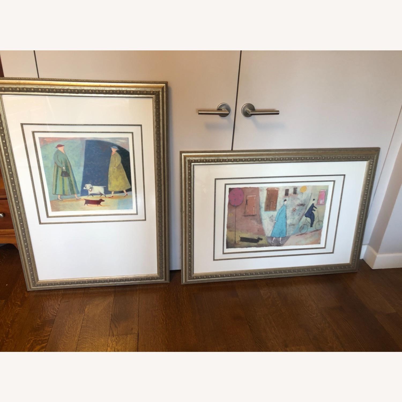 Framed set of Paula McArdle prints - image-1