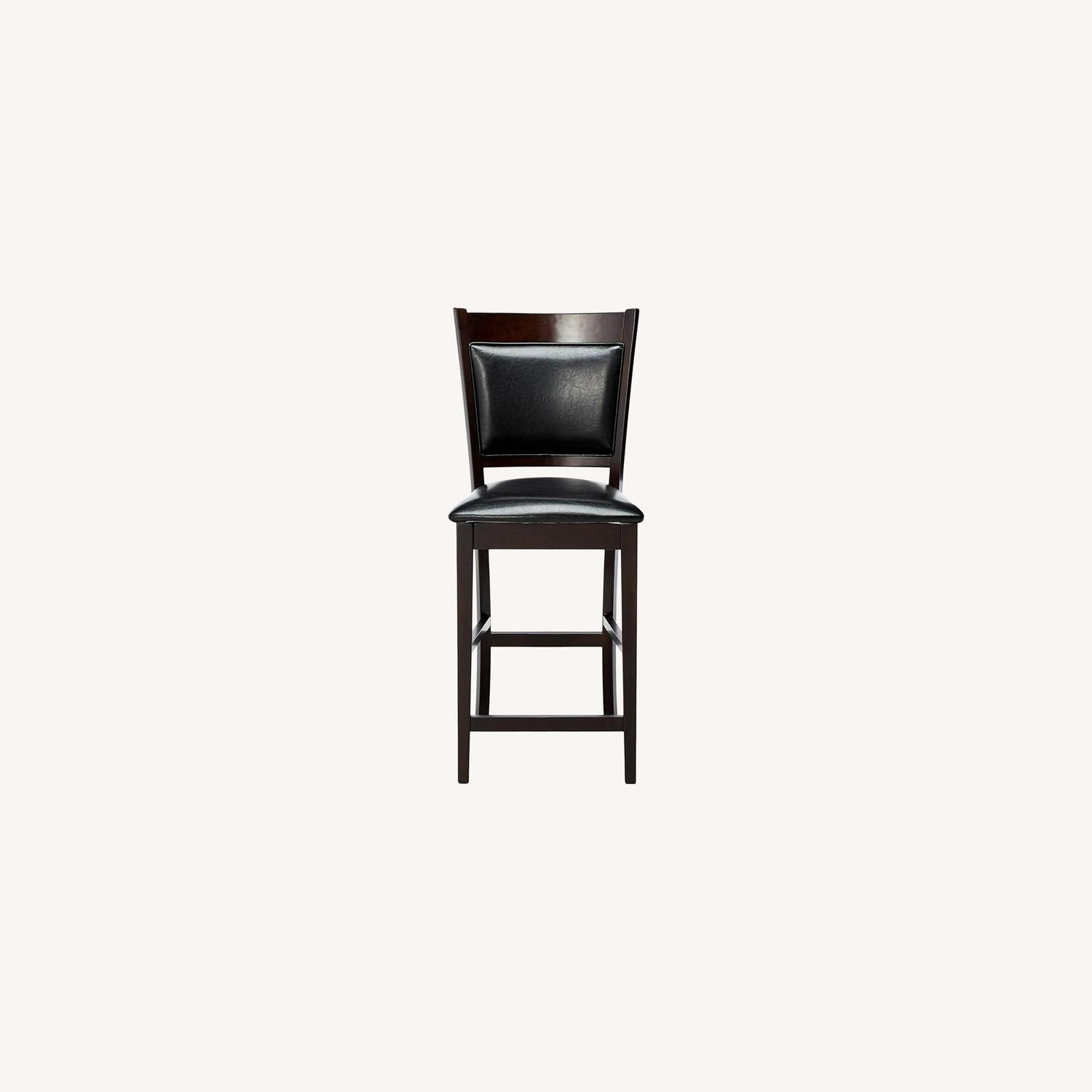 Counter Height Chair In Espresso Finish - image-7
