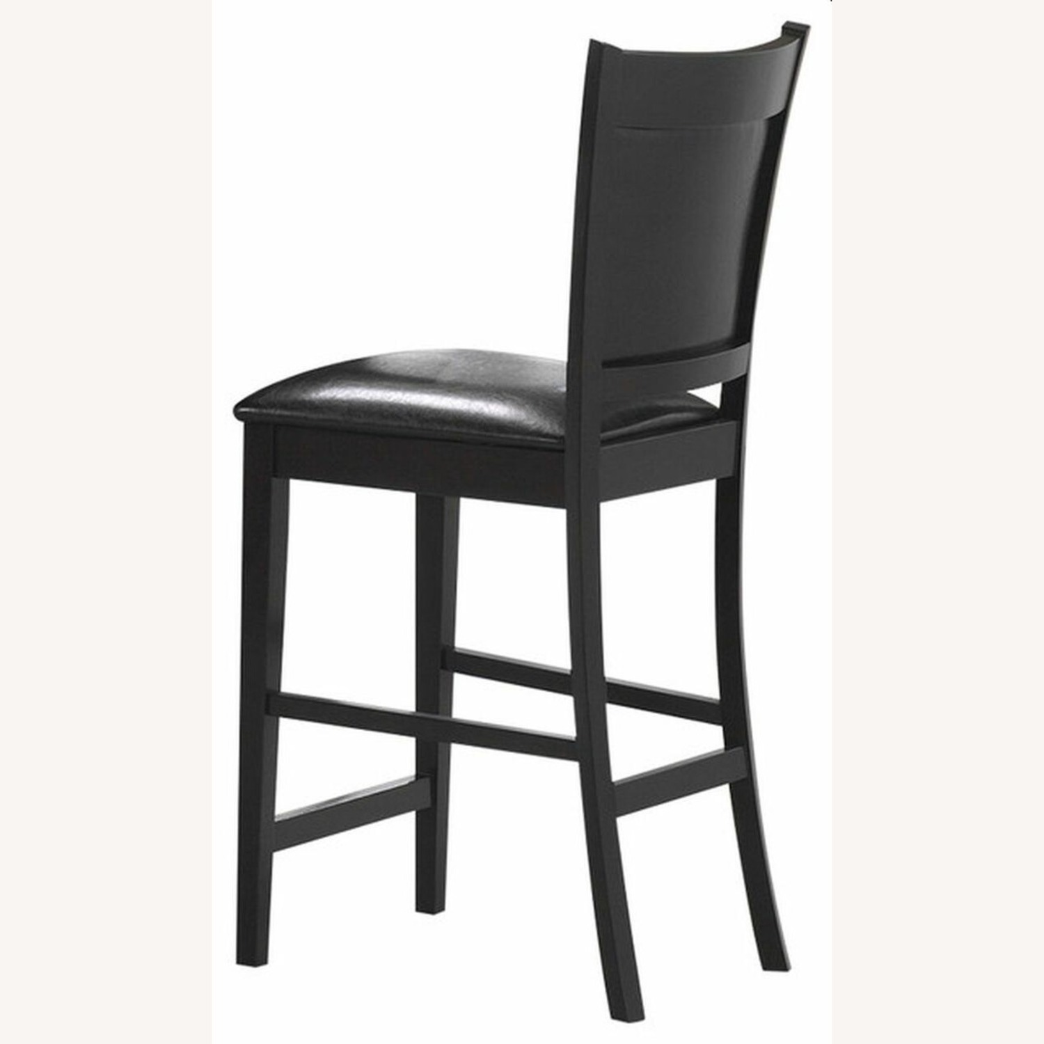 Counter Height Chair In Espresso Finish - image-3