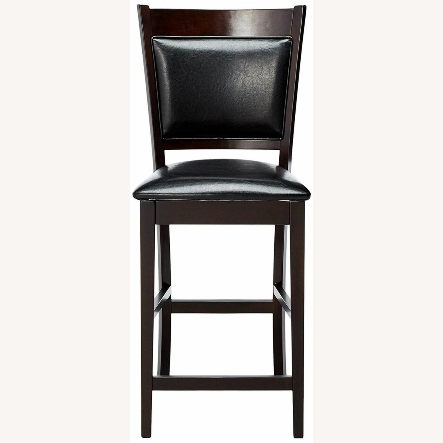 Counter Height Chair In Espresso Finish - image-2