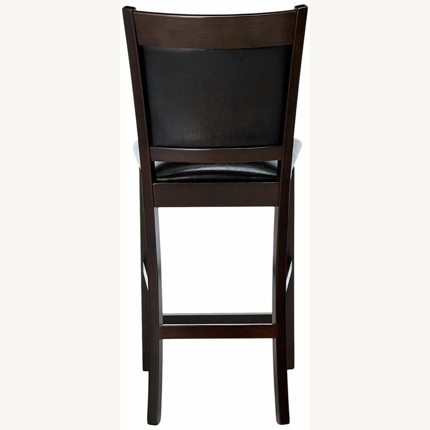 Counter Height Chair In Espresso Finish - image-4