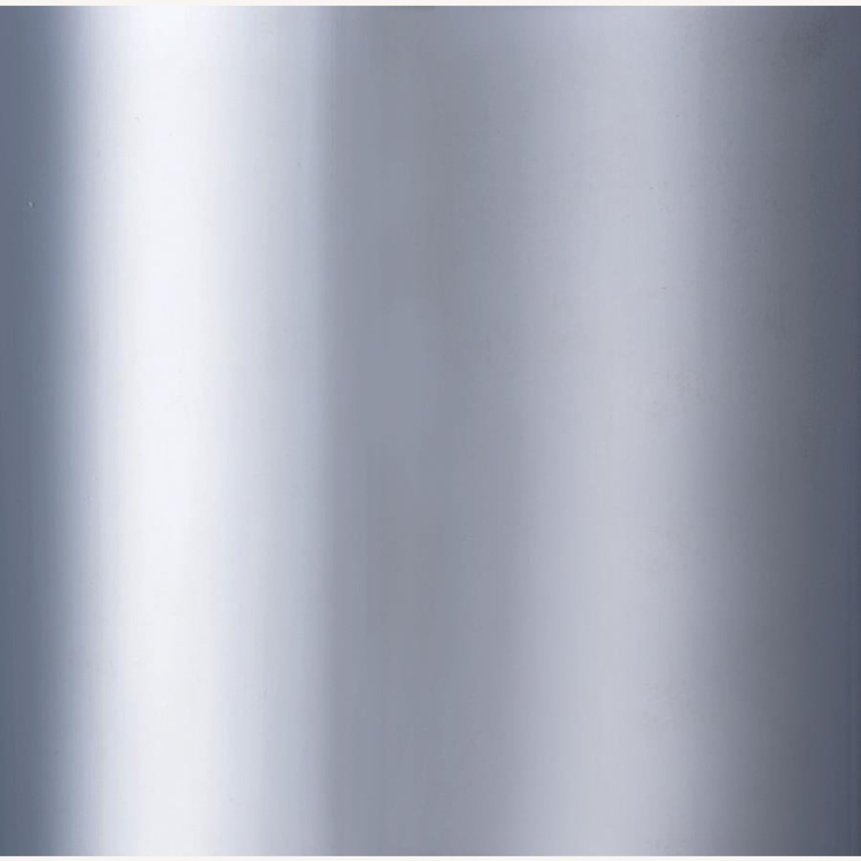 Swivel Bar Stool In Black Chrome Finish - image-3