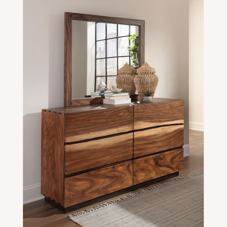 Dresser In Smokey Walnut & Coffee Bean Finish - image-2