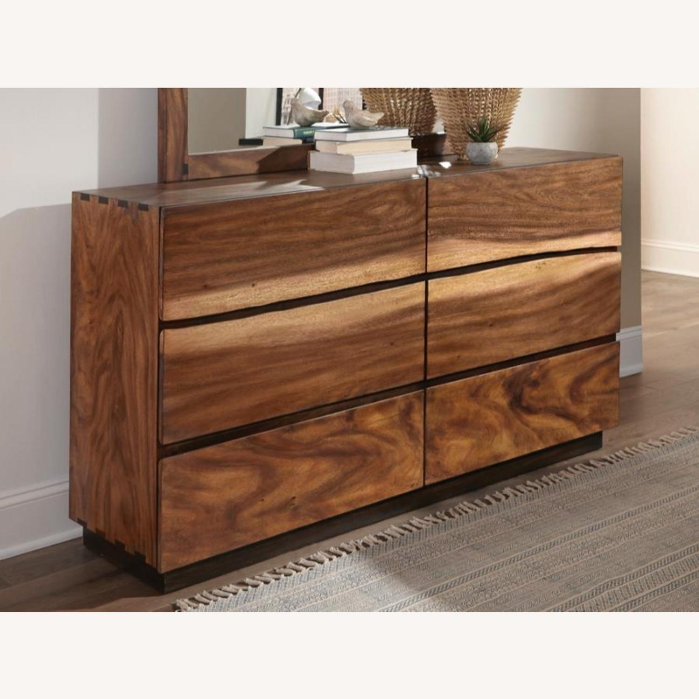 Dresser In Smokey Walnut & Coffee Bean Finish - image-1