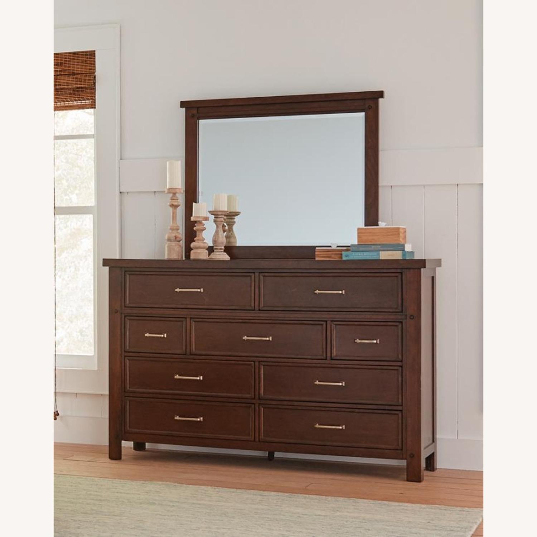 Dresser In Pinot Noir & Nickel Brushed Finish - image-4