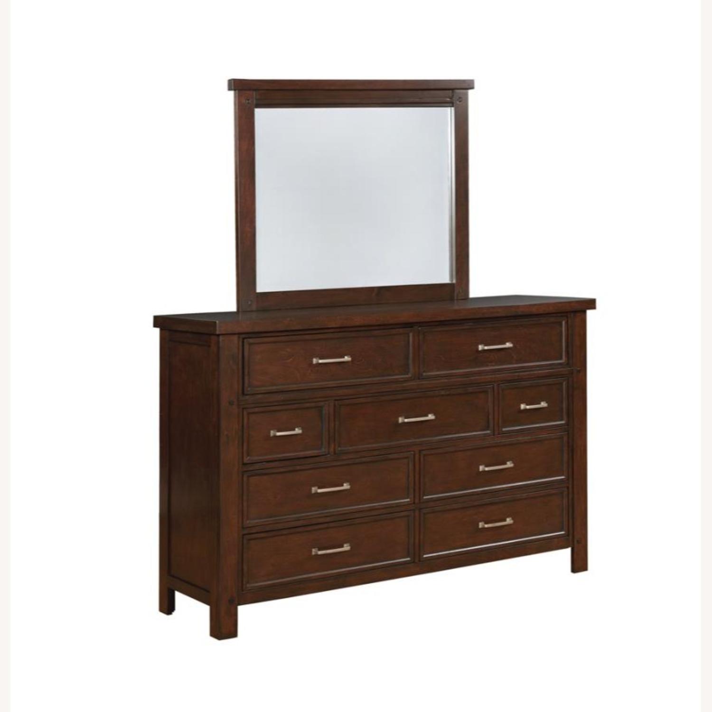 Dresser In Pinot Noir & Nickel Brushed Finish - image-3