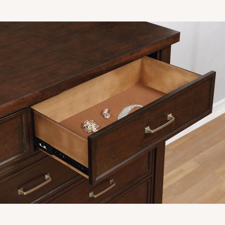 Dresser In Pinot Noir & Nickel Brushed Finish - image-2