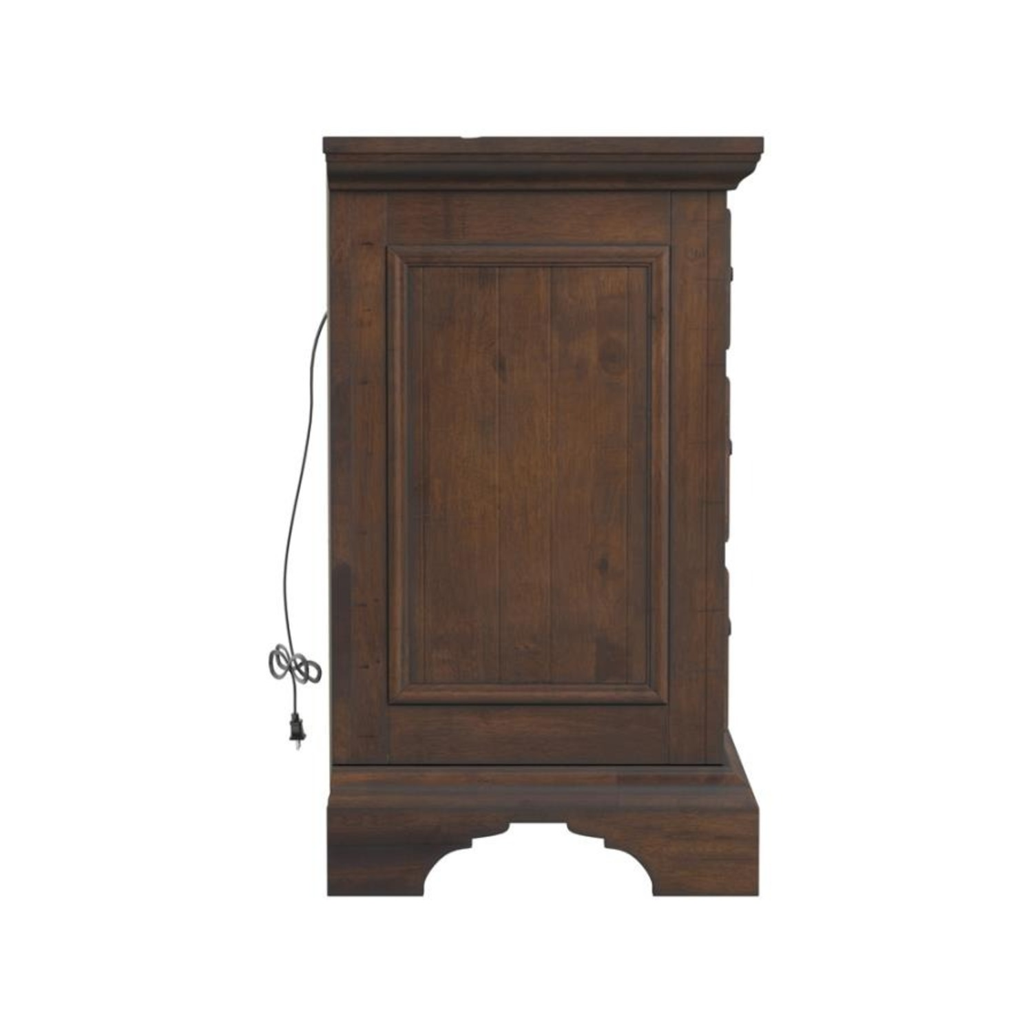 Nightstand In Vintage Bourbon & Rustic Finish - image-2