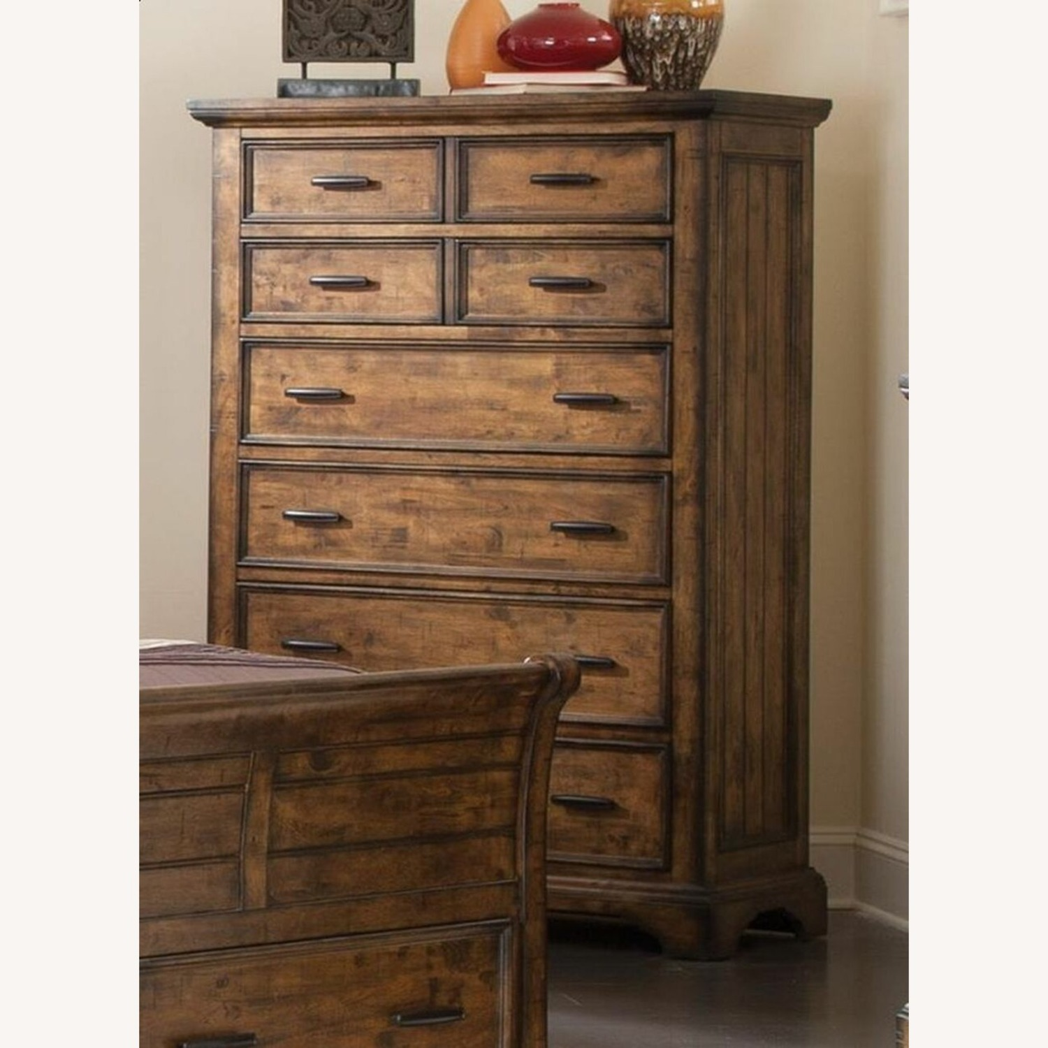 Chest In Vintage Bourbon & Rustic Finish - image-2