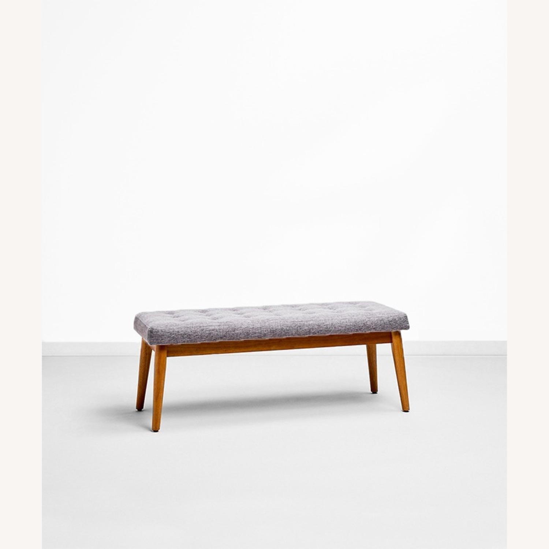 Crosley Weaver Upholstered Bench - image-1