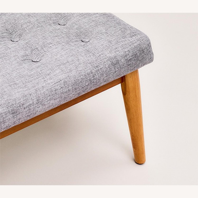 Crosley Weaver Upholstered Bench - image-2