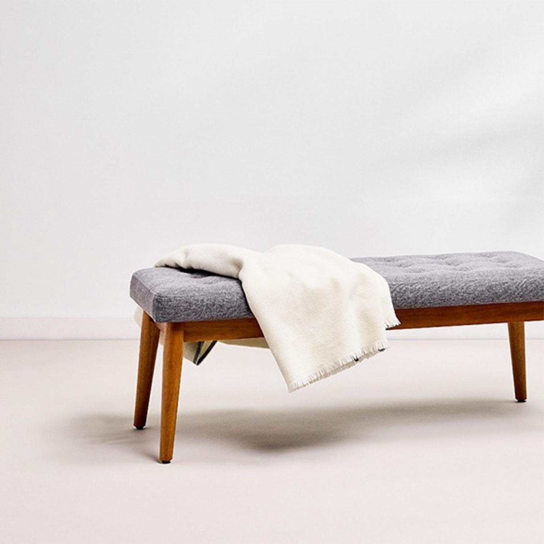 Crosley Weaver Upholstered Bench - image-3