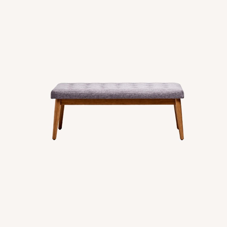 Crosley Weaver Upholstered Bench - image-0