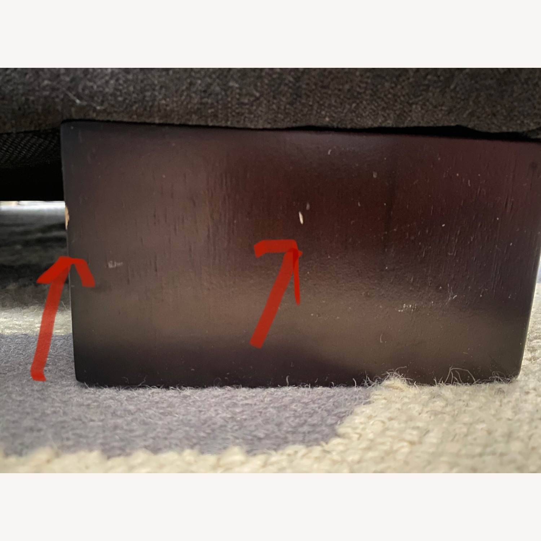 West Elm Dark Grey Henry Chair - image-12