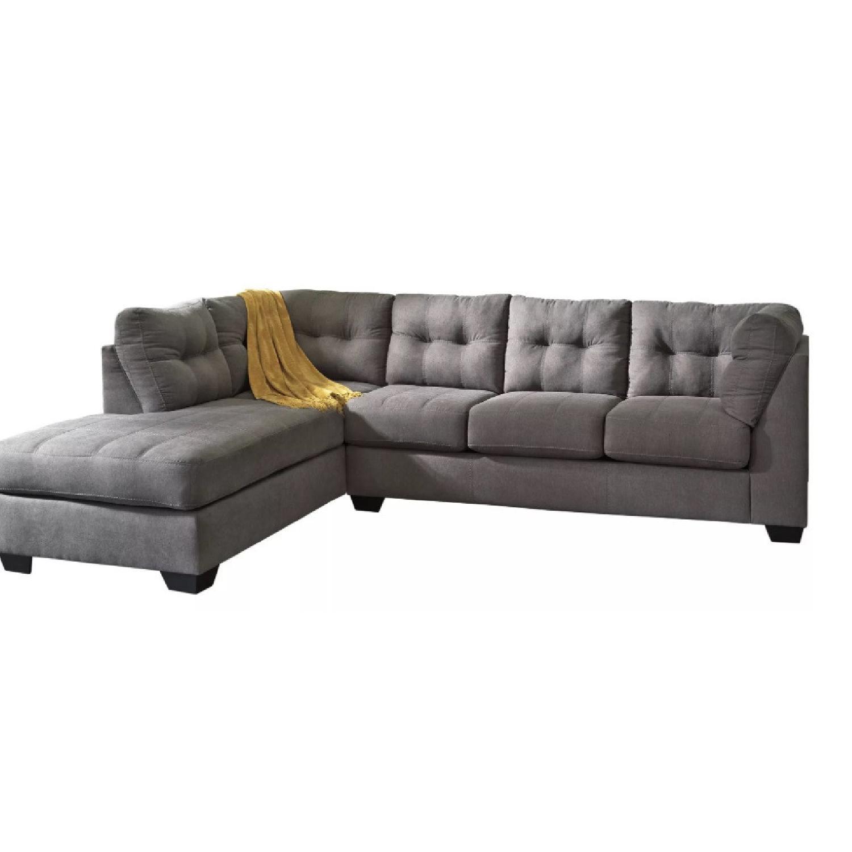 Raymour & Flanigan Desmond 2 Piece Sectional Sofa - image-8