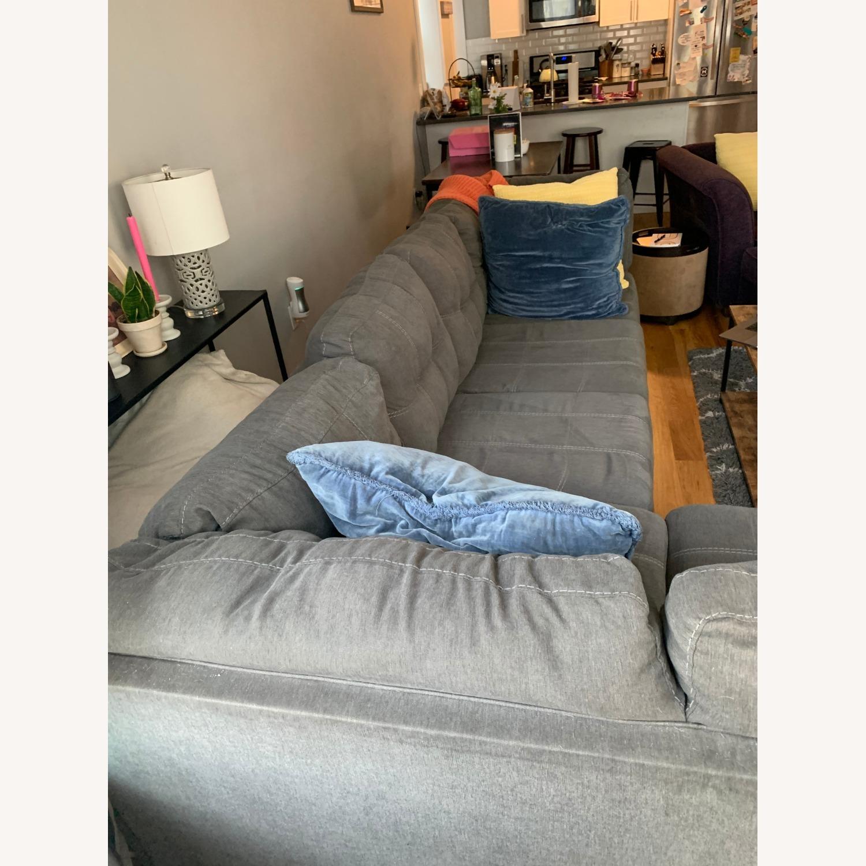 Raymour & Flanigan Desmond 2 Piece Sectional Sofa - image-5