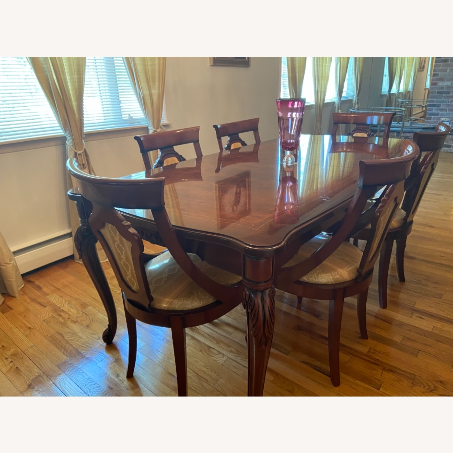 Dining Room Chairs- Set of 6 - image-4