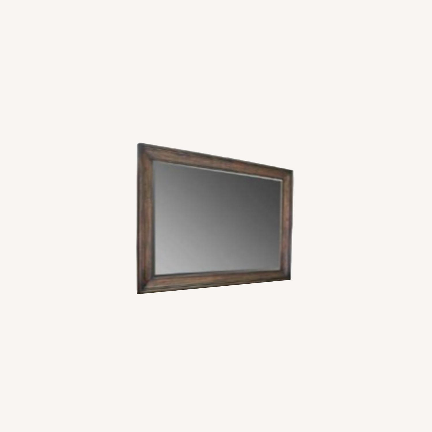Mirror In Weathered Burnished Brown Finish - image-4