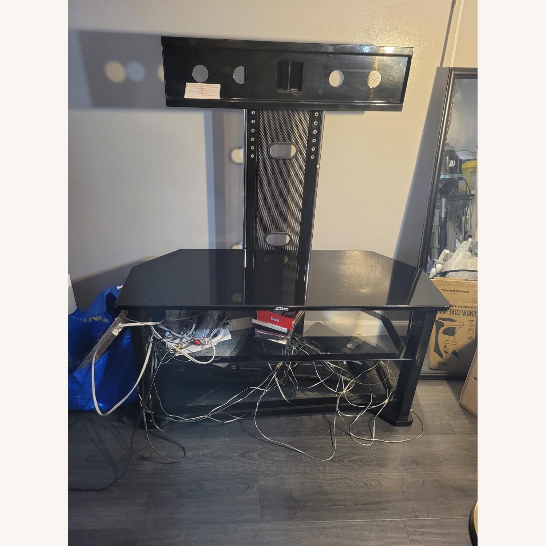 Black TV Stand - image-0