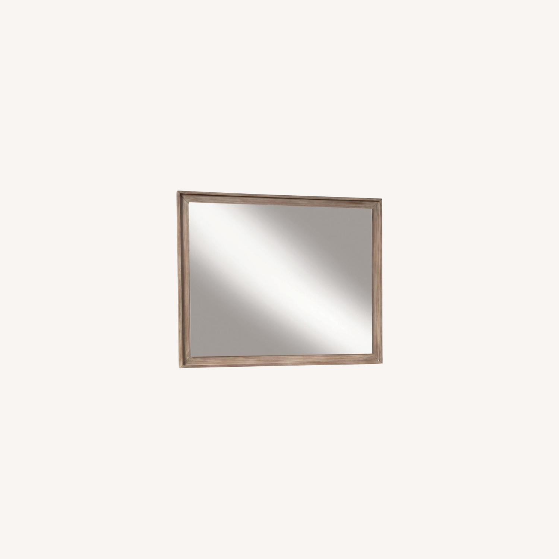 Mirror In Sandstone Frame Finish - image-4