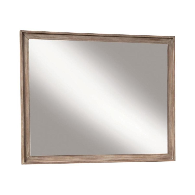 Mirror In Sandstone Frame Finish - image-0