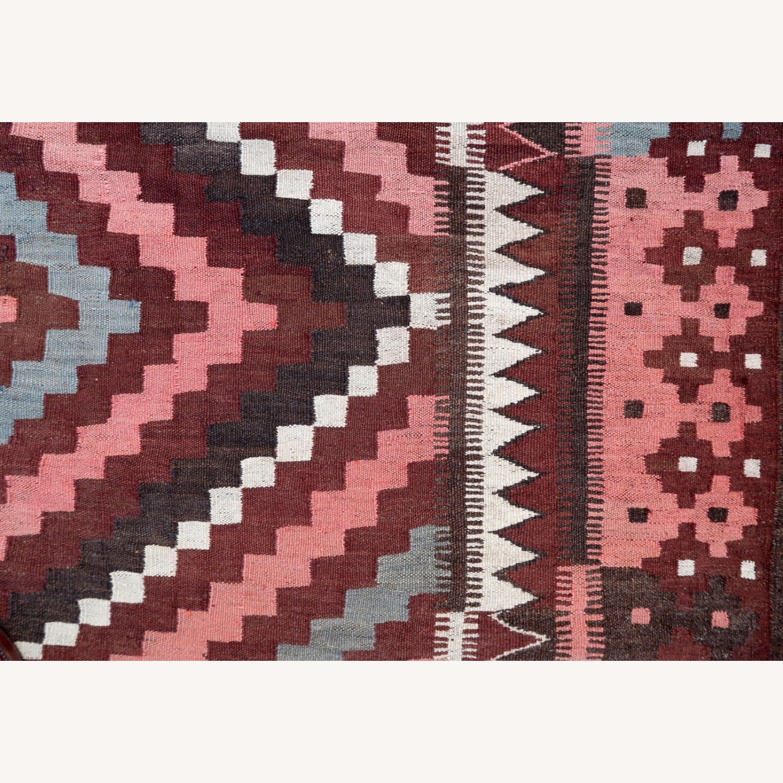 Handmade vintage Afghan kilim, 1P86 - image-5