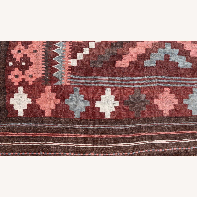 Handmade vintage Afghan kilim, 1P86 - image-2