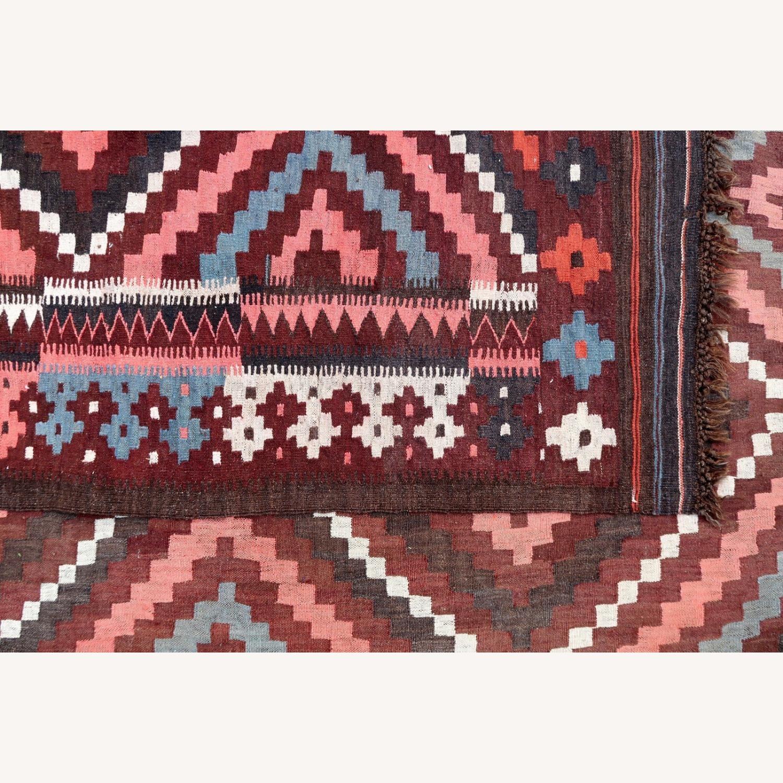 Handmade vintage Afghan kilim, 1P86 - image-1