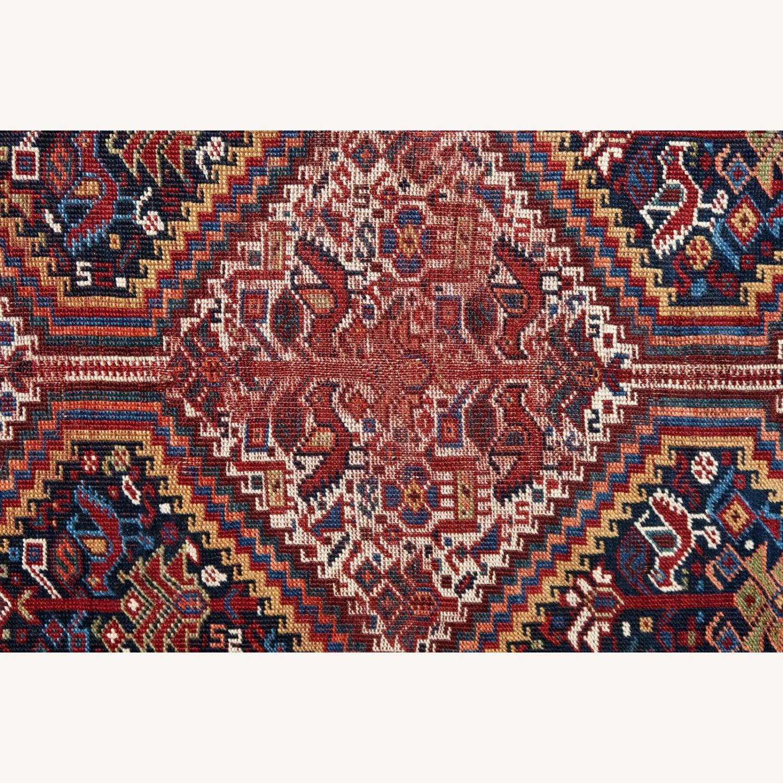 Handmade antique Persian Gashkai rug, 1P89 - image-3
