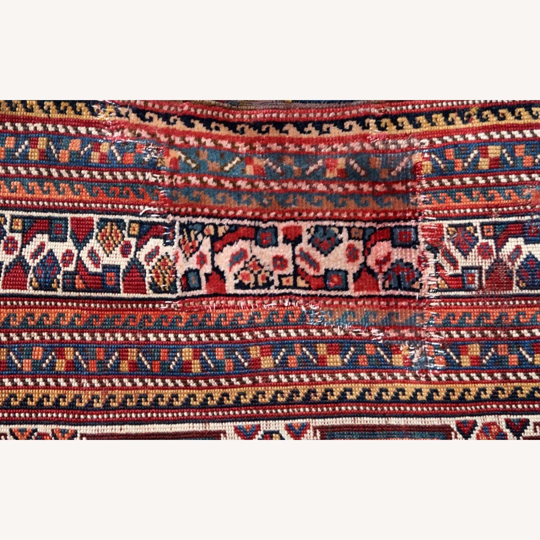 Handmade antique Persian Gashkai rug, 1P89 - image-4