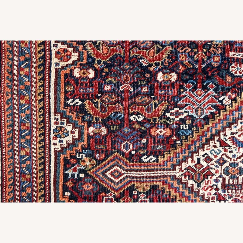 Handmade antique Persian Gashkai rug, 1P89 - image-2
