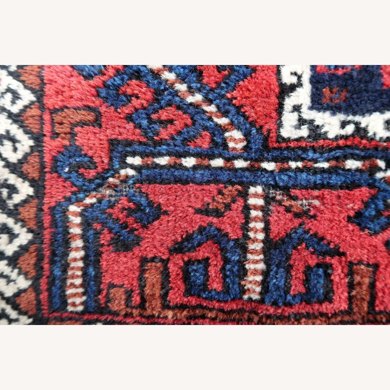 Handmade antique Afghan Baluch rug, 1P91 - image-2