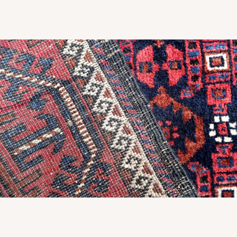 Handmade antique Afghan Baluch rug, 1P91 - image-1