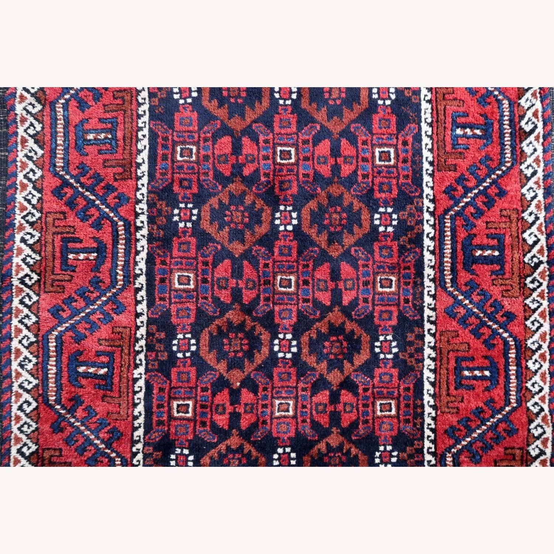 Handmade antique Afghan Baluch rug, 1P91 - image-6