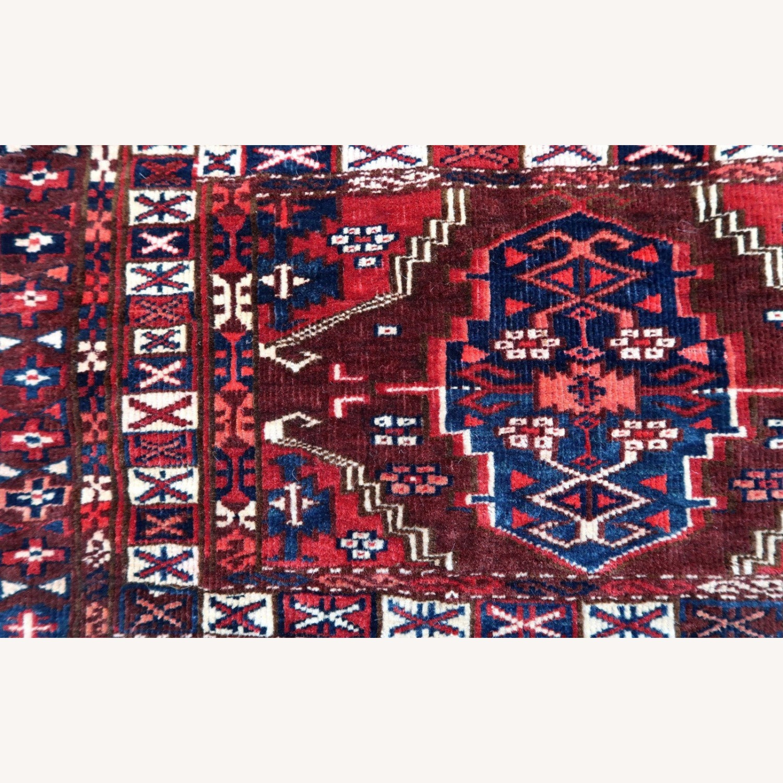 Handmade antique Turkmen Yomud torba bag, 1P93 - image-2