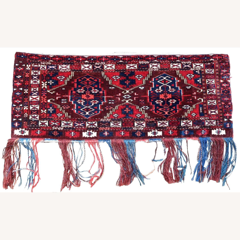 Handmade antique Turkmen Yomud torba bag, 1P93 - image-3