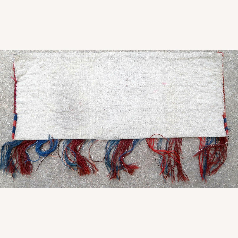 Handmade antique Turkmen Yomud torba bag, 1P93 - image-1