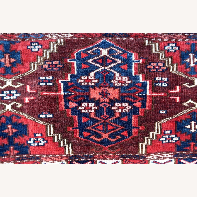 Handmade antique Turkmen Yomud torba bag, 1P93 - image-4
