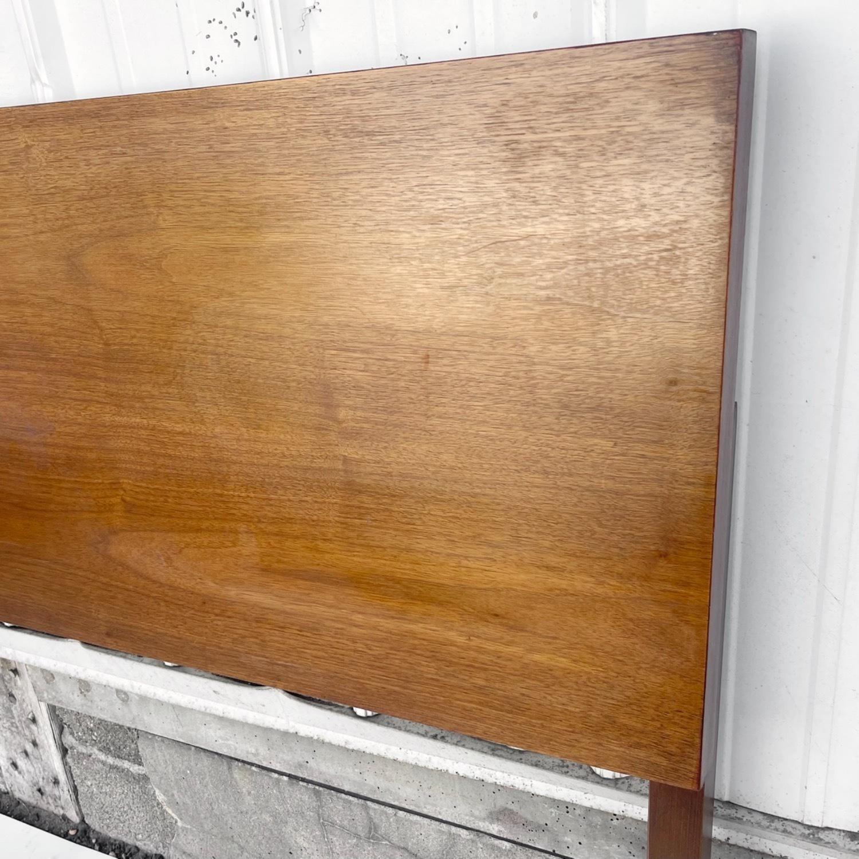 Mid-Century Walnut Headboard- Queen - image-2