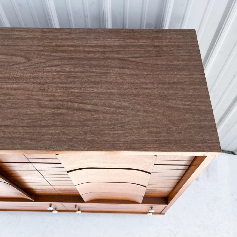 Mid-Century Modern Highboy Dresser - image-6