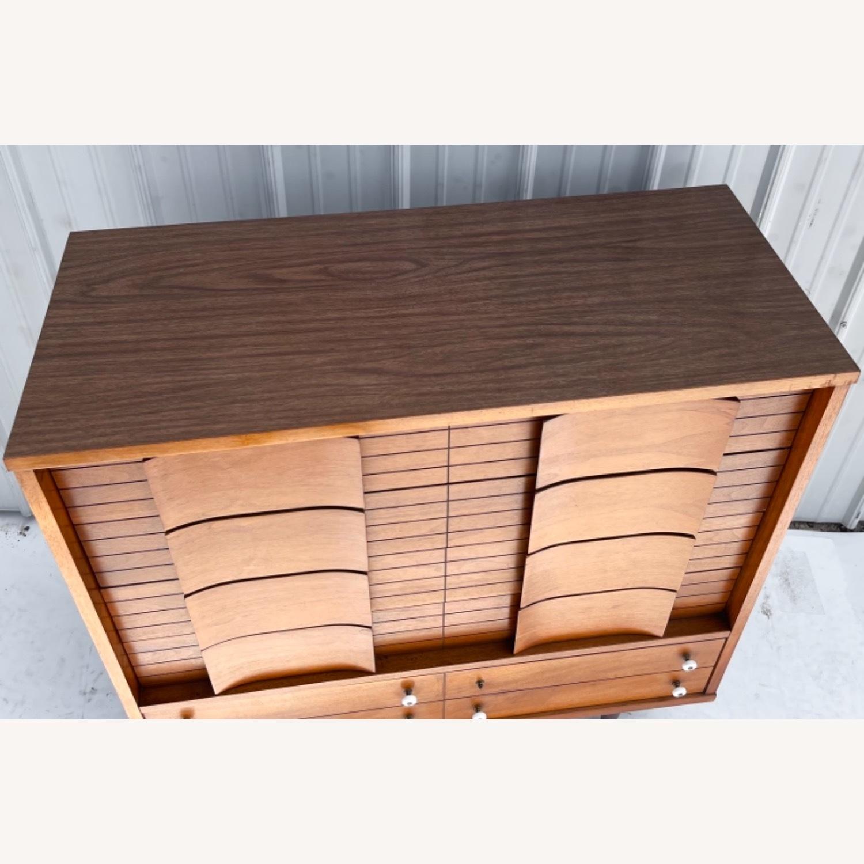 Mid-Century Modern Highboy Dresser - image-13