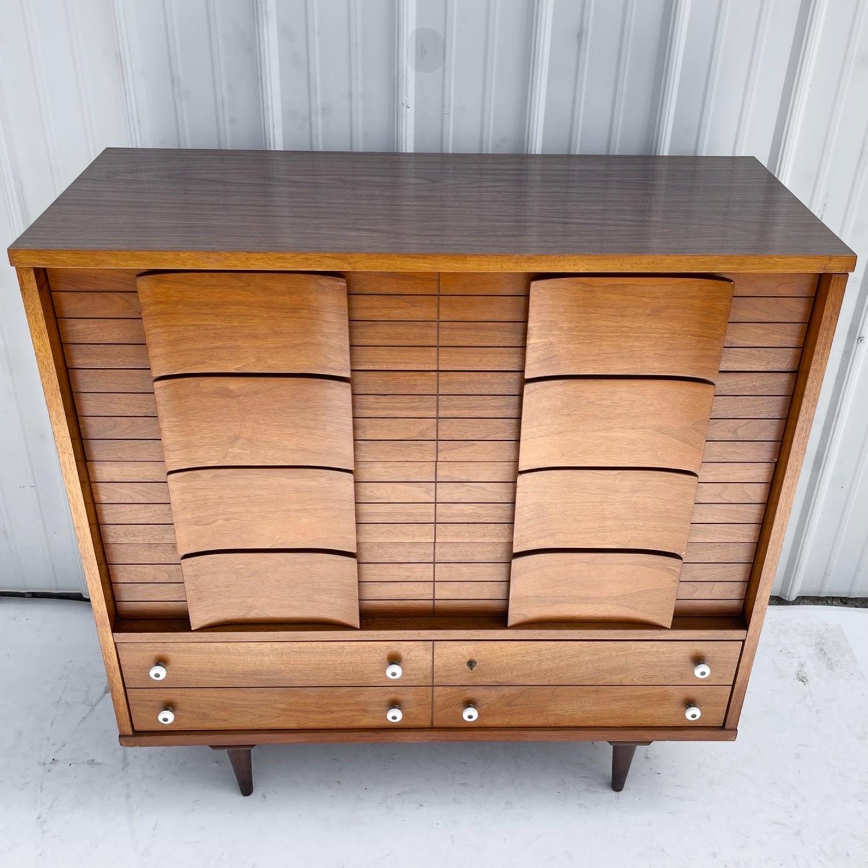 Mid-Century Modern Highboy Dresser - image-2