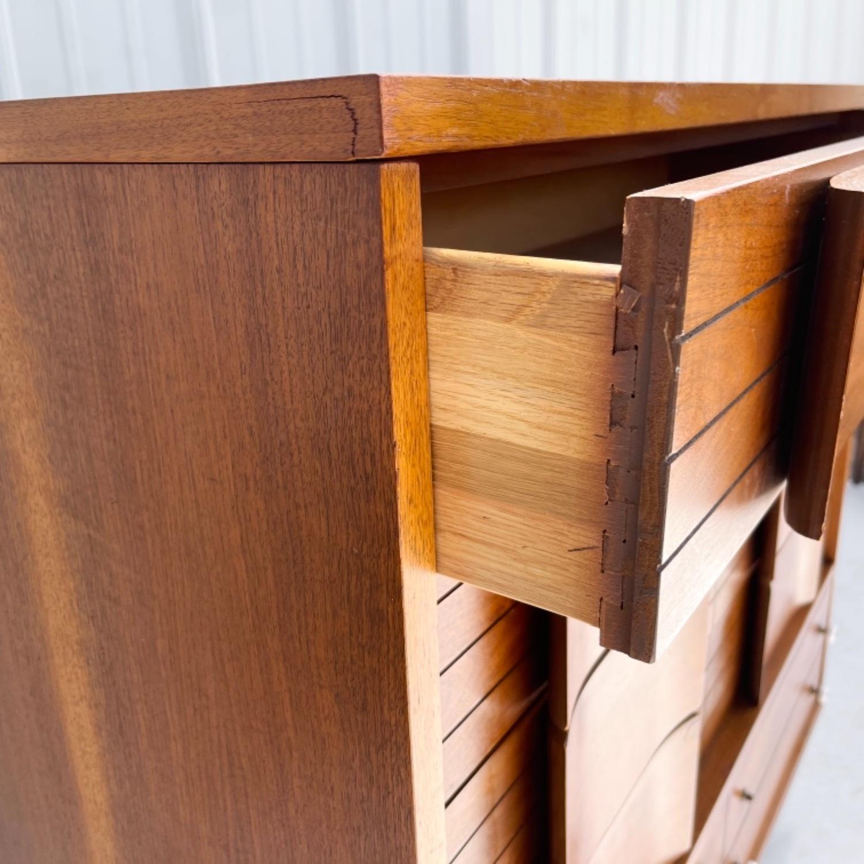 Mid-Century Modern Highboy Dresser - image-11