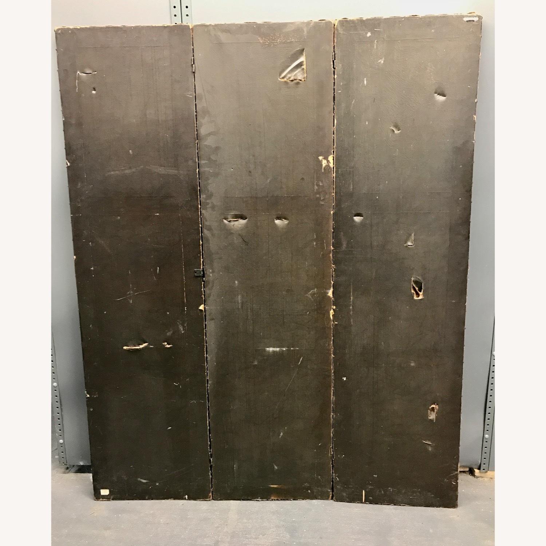 Deco Leather 3 panel Screen - image-5