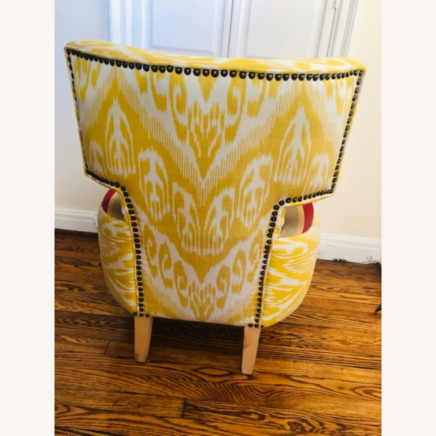 Custom made IKAT Accent Chair - image-2